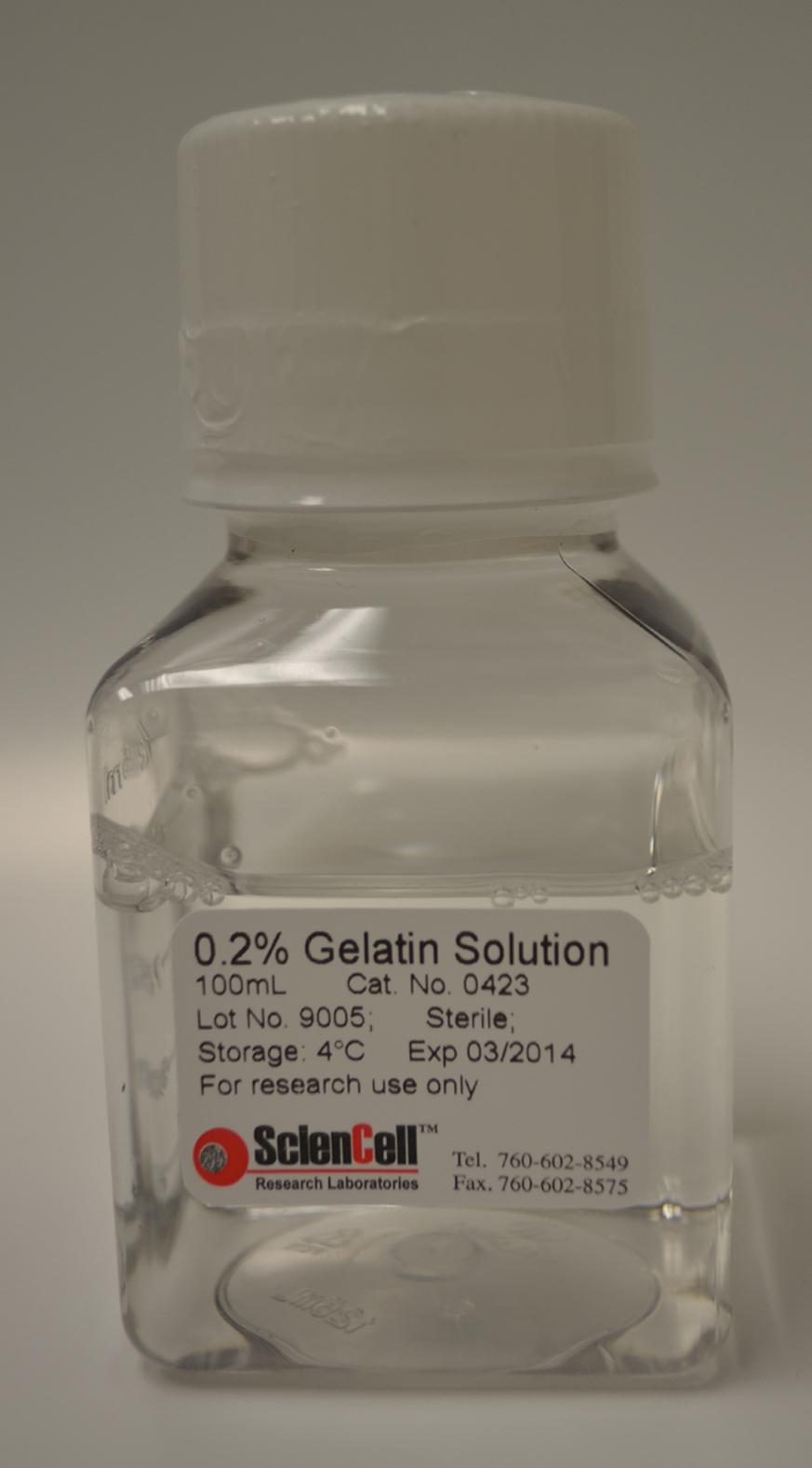 0.2%明胶溶液(无菌) GSN